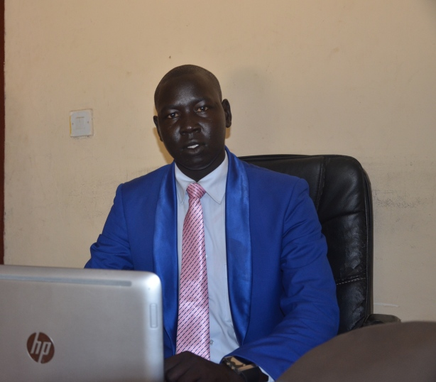 Mach Samuel, Executive Director of the jonglei Institute for Peace, Democracy and Development, Bor-based civil society group in jonglei state