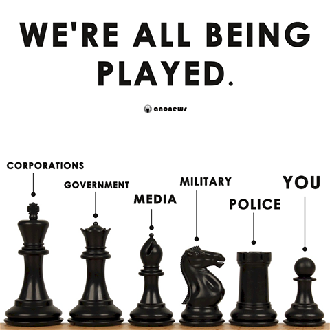 you are being played