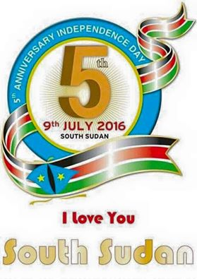 South Sudan fifth independent day anniversary