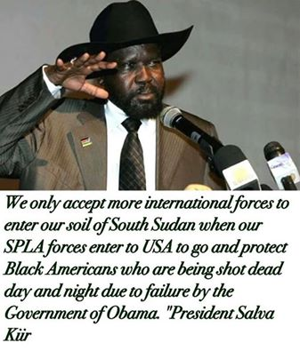 kiir to the usa