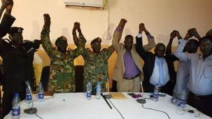 Peace and reconciliation process between Paul Malong and Dau Aturjong, Aweil, Sept 2016