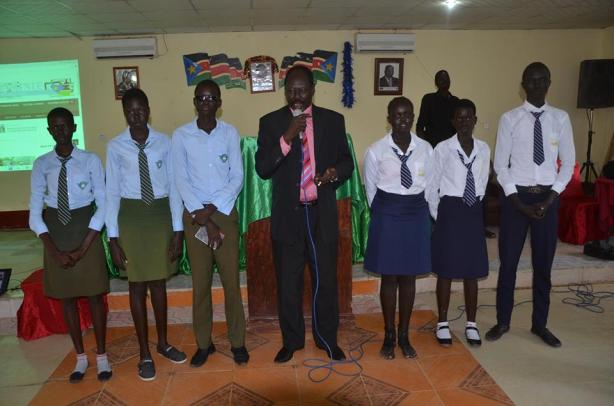 Alliance and Bor college students, Jonglei state