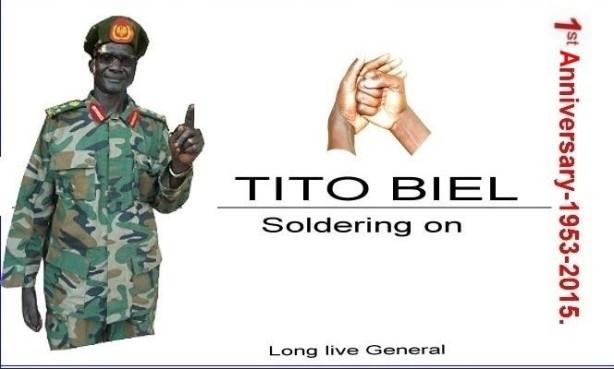 General Tito Biel Chuor