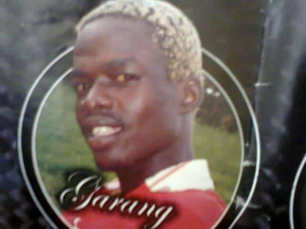 Artist David Garang Deng Aguer