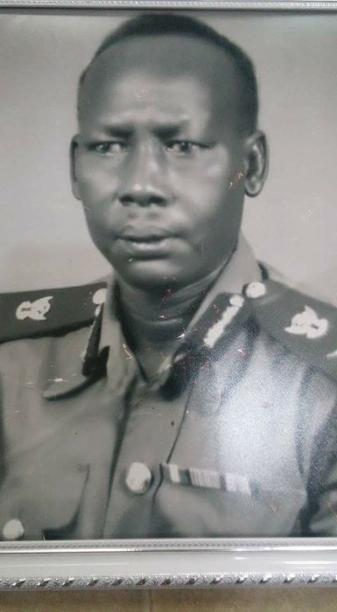 The Late Gen. Ruben Mach Buot