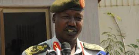 Image result for Lt. General Thomas Cirillo Swaka