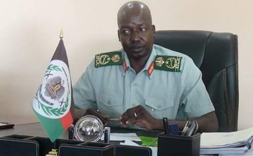 Image result for general thomas cirillo of south sudan