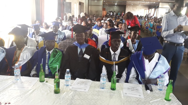 Naath university students in Uganda organize a Farewell party for 2016, 2017 Graduates
