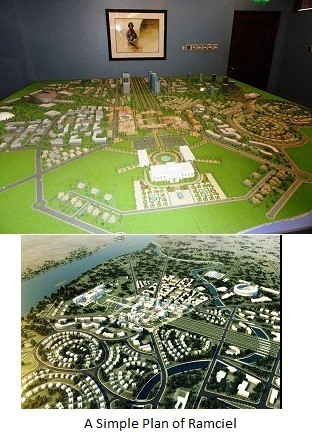 Ramciel, the new capital city of South Sudan
