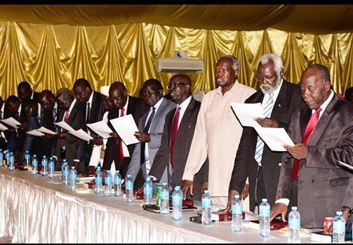 National Dialouge Steering Committee