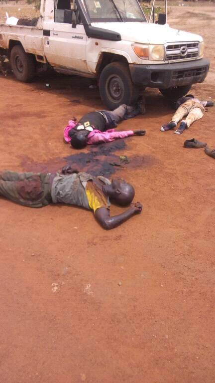 Victims of the Bor-Juba Road ambush4