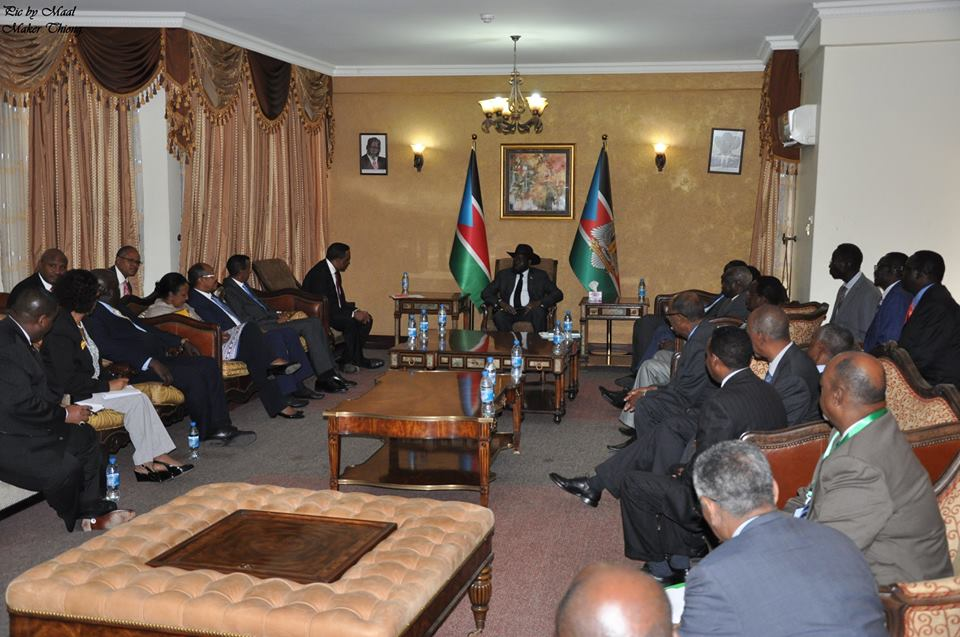 IGAD plus President Kiir, 25 July 2017