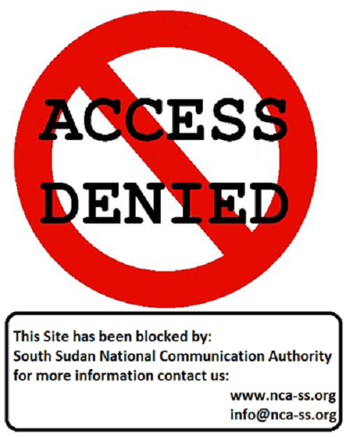 PaanLuel Wel website, along with Sudan Tribune, Radio Tamazuj and Nyamilepedia, has been blocked in South Sudan by the national security