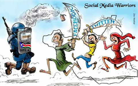 Social media warriors