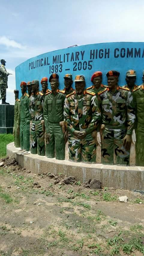 SPLA military High military command