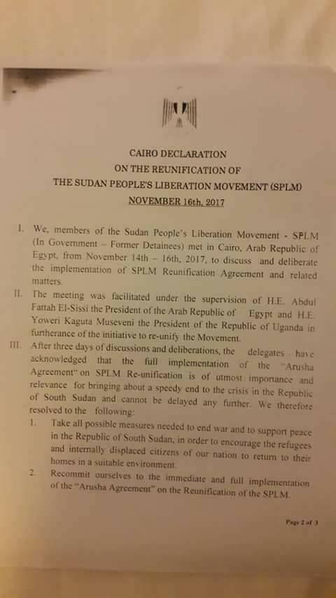 Cairo Declaration1