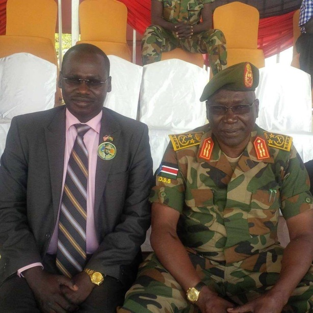 Gordon Buay and Gen Malong Awan