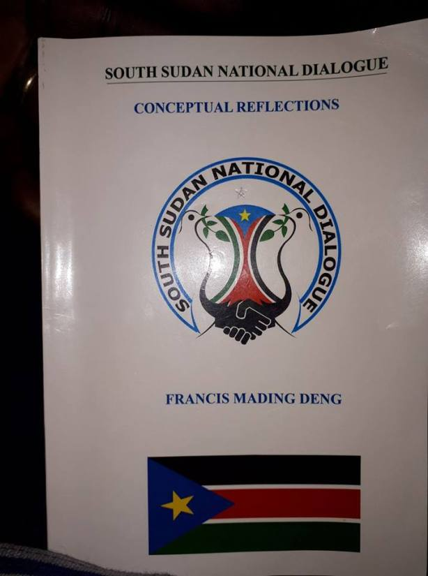 National Dialogue, concept reflictions by Mading Deng