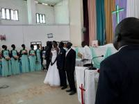 The wedding of Amer Mayen Dhieu and Makwei Mabioor Deng, October 14, 2017, Juba, South Sudan