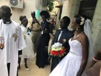 The wedding of Amer Mayen Dhieu and Makwei Mabioor Deng, October 14, 2017, Juba, South Sudan