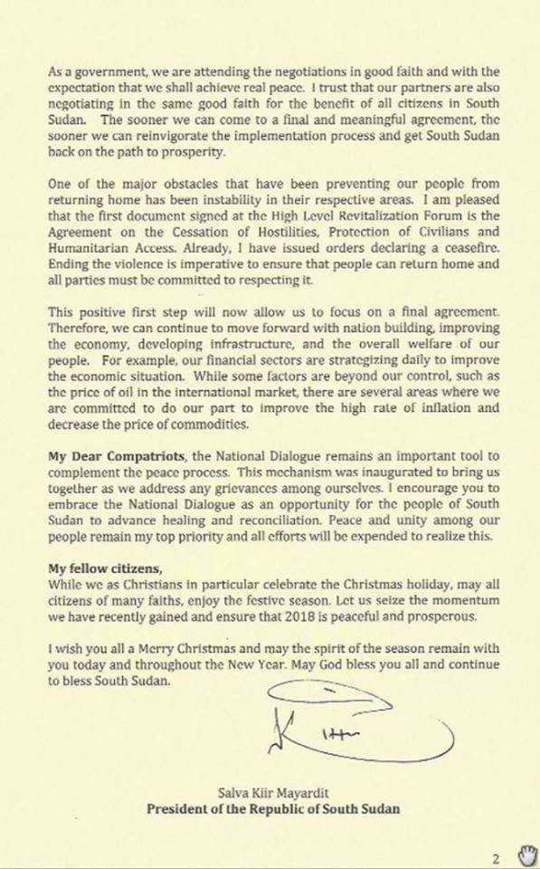 kiir xmass message2