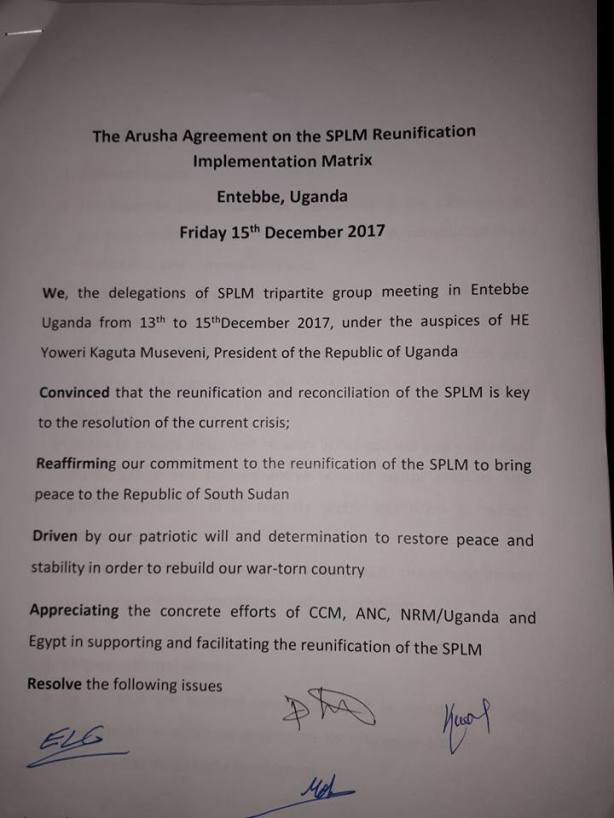 SPLM reunification1