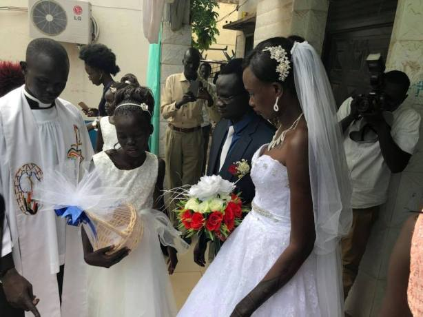 The Wedding of Amer Mayen Dhieu and Makwei Mabioor Deng, 14 October 2017