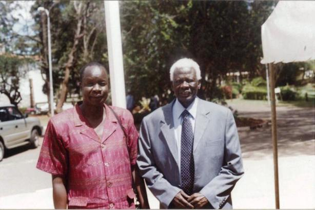 Abel Alier and Atem Yaak Atem