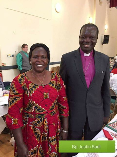 Justin Badi, elected Primate of the Anglican church in south Sudan and Sudan
