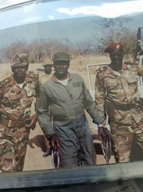 CDR Kerubino Kuanyin Bol, CDR Arok Thon Arok and CDR William Nyuon Bany