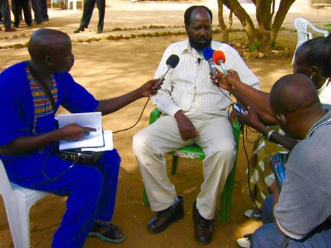 Kiir first interview after nomination and confirmation as splm leader, new site, 2005