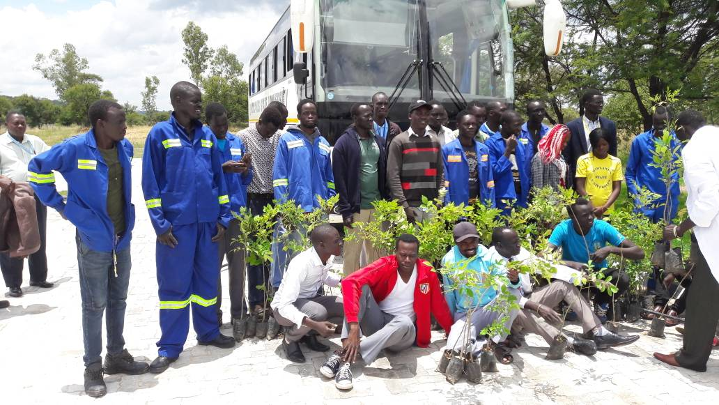 South Sudanese students in Zimbabwe