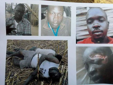 three brothers killed in Juba - Deng Muor Kuac, Ayuel Muor Kuac and Kon Muor Kuac