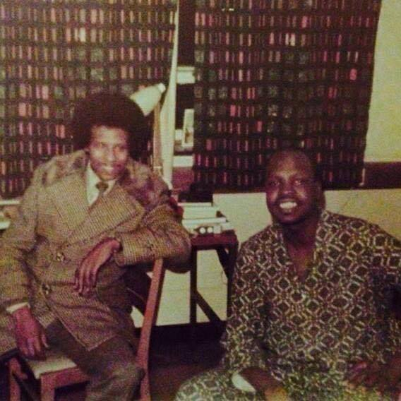 Walter Rodney and Mark Majak Abiem