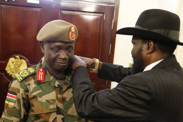 SPLA Chief of General Staff, Gen James Ajongo Mawut