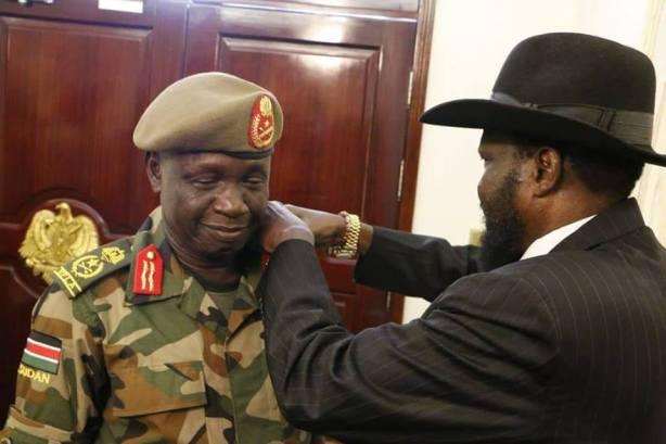 SPLA Chief of General Staff, Gen James Ajongo Mawut