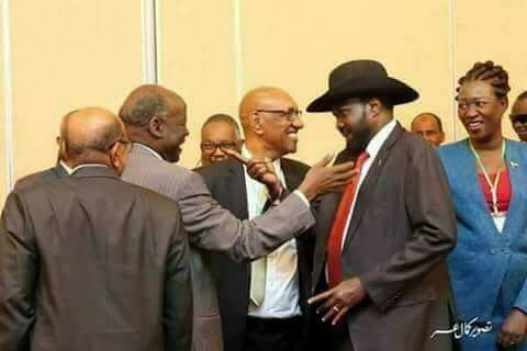 Lam Akol and Salva Kiir