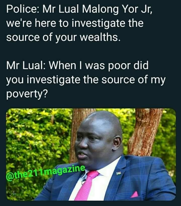 corruption in south sudan