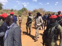 Awerial, Lakes State, President Kiir tour of Bahr el Ghazal region13