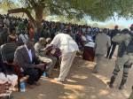 Awerial, Lakes State, President Kiir tour of Bahr el Ghazal region2