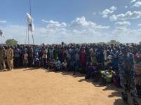 Awerial, Lakes State, President Kiir tour of Bahr el Ghazal region6