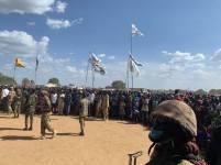 Awerial, Lakes State, President Kiir tour of Bahr el Ghazal region7