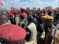 Awerial, Lakes State, President Kiir tour of Bahr el Ghazal region8