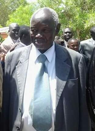 Late Justice Wuol Makec, the former Chief Justice of the Republic of South Sudan1