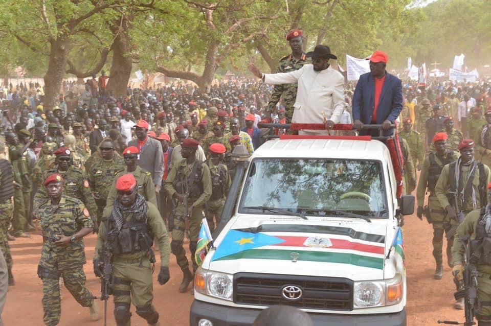 President Kiir's Bahr el Ghazal tour, Feb 2019