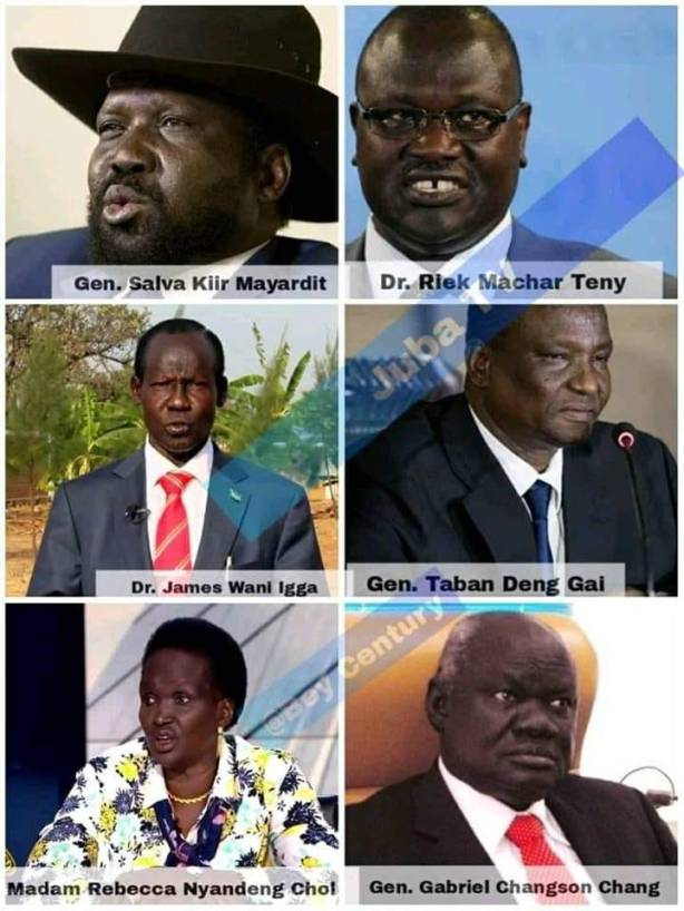2 Dinkas, 3 Nuers, and one Equatorian - The Proposed Presidency of the Revitalized Transitional Government of National Unity (R-TGONU)