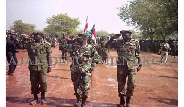 Maj. Gen. Atem Aguang Atem; Arrival in Juba in 2005;
