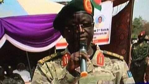 Lt. Gen. Akol Koor Kuc, Director of the South Sudan's National Internal Security Services (NISS)