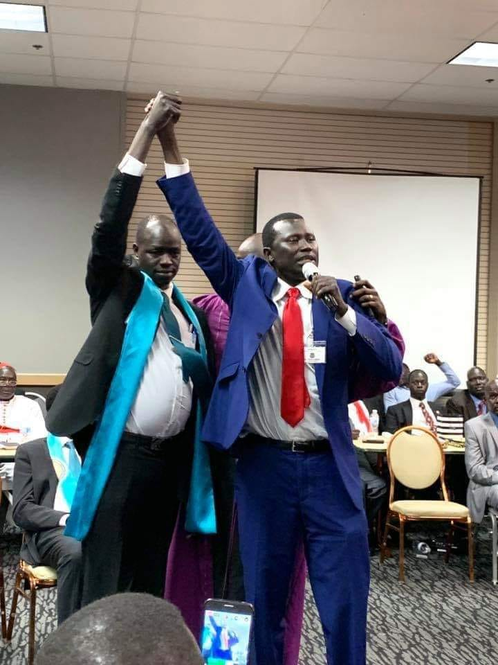 Lual Bul Manyok and Atem Deng Ang'oh, July 2019